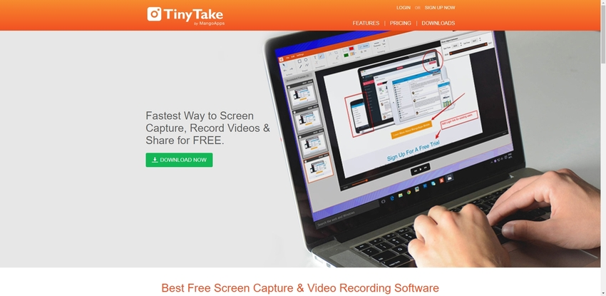 Best Screen Capture for Windows-Tinytake