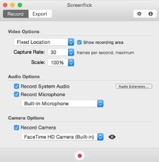 Launch Screenflick in Mac