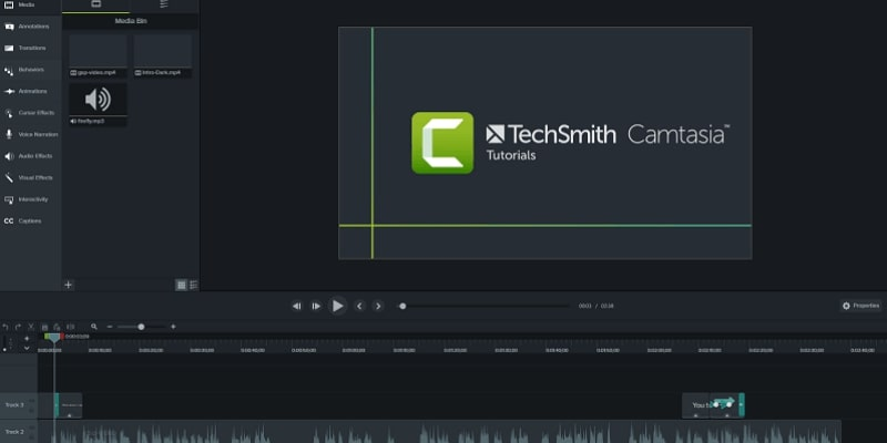 Screen Record on imac-Camtasia