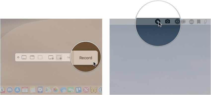Start and End the Record in Mac