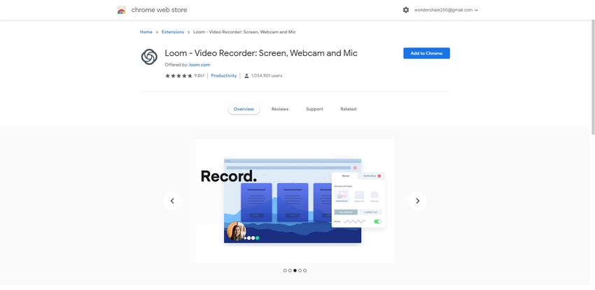 Google Chrome Recording Tool-Loom