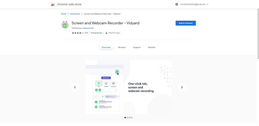 Best Screen Recorder for Chromebook-Vidyard