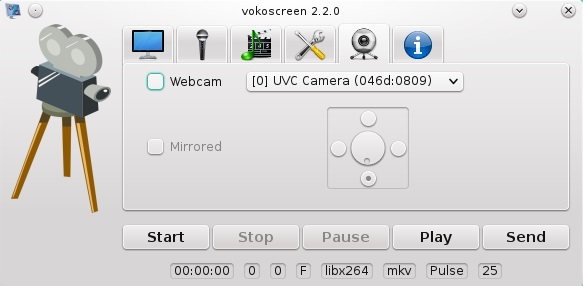 Linux Screen Recording Software-Vokoscreen