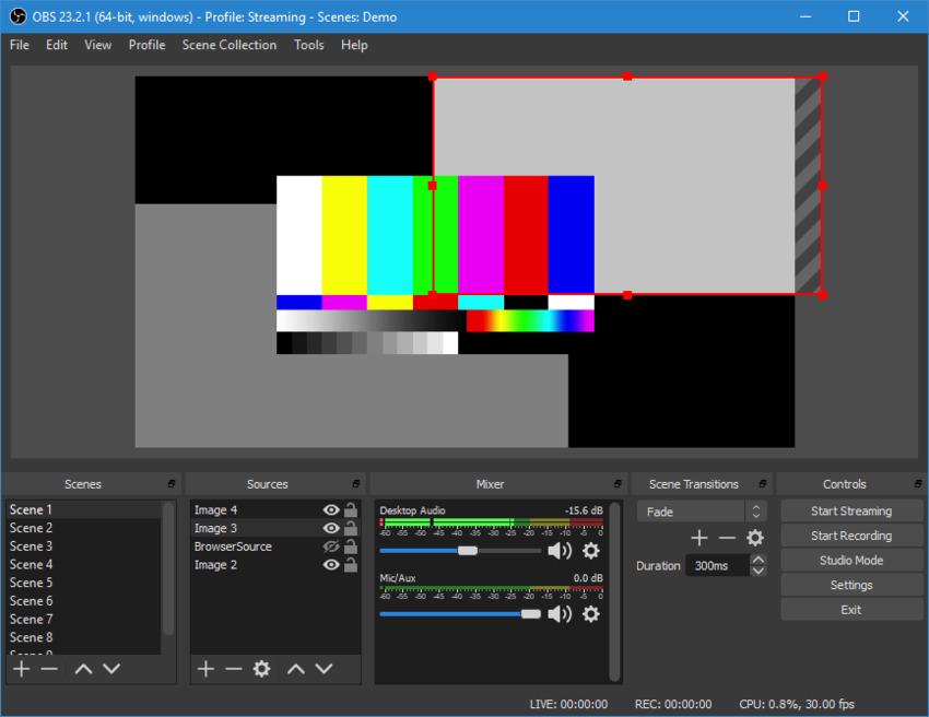 Windows Recorder-OBS Studio