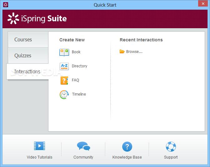 Windows Screen Recorder-iSpring Suite 9.7