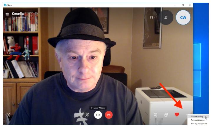 record skype video