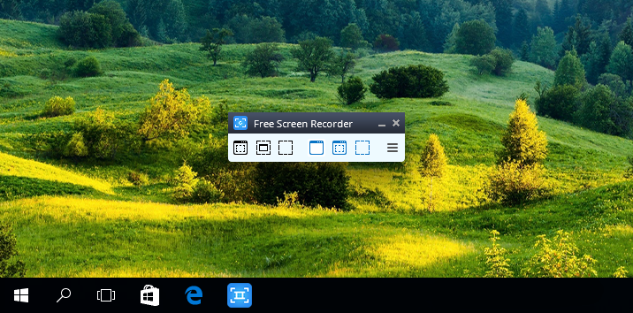 Video Capture Tool-Free Screen Video Recorder