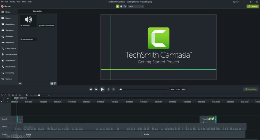 Windows Video Capture-Camtasia Studio