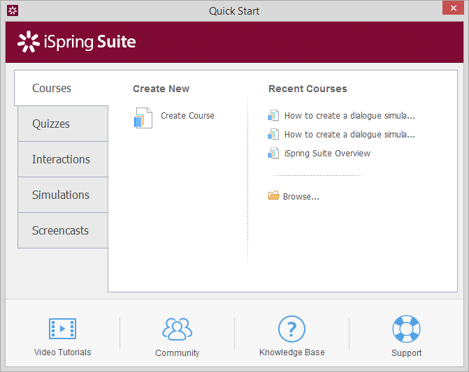 Capture Video Windows-iSpring Suite