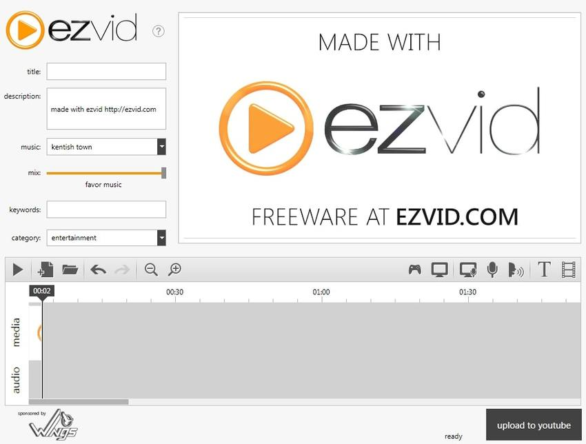 Computer Video Recorder-Ezvid