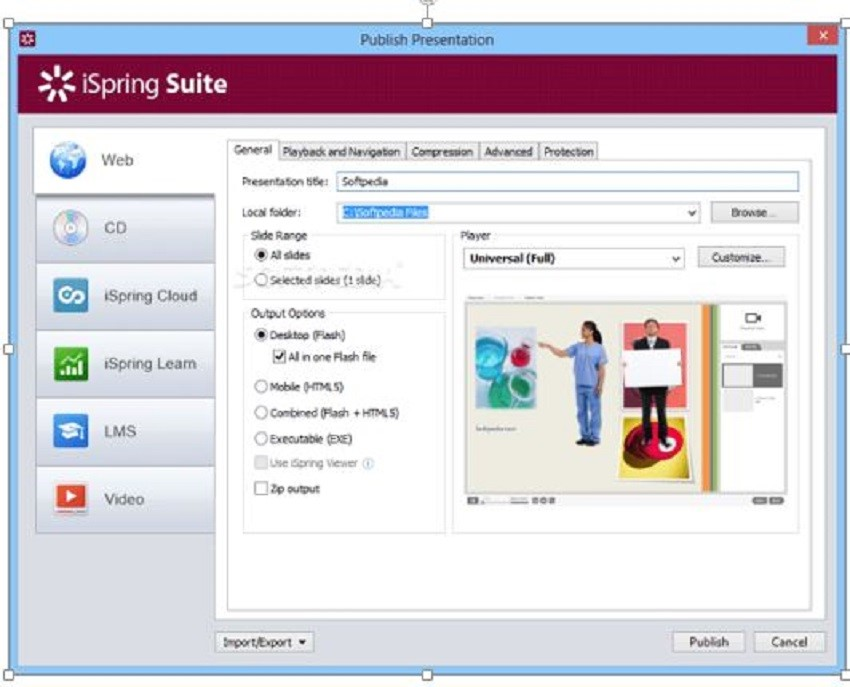 Recording Programs for PC-Ispring suite