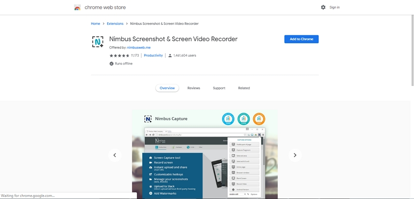 Best Online Video Capture-Nimbus Screenshot