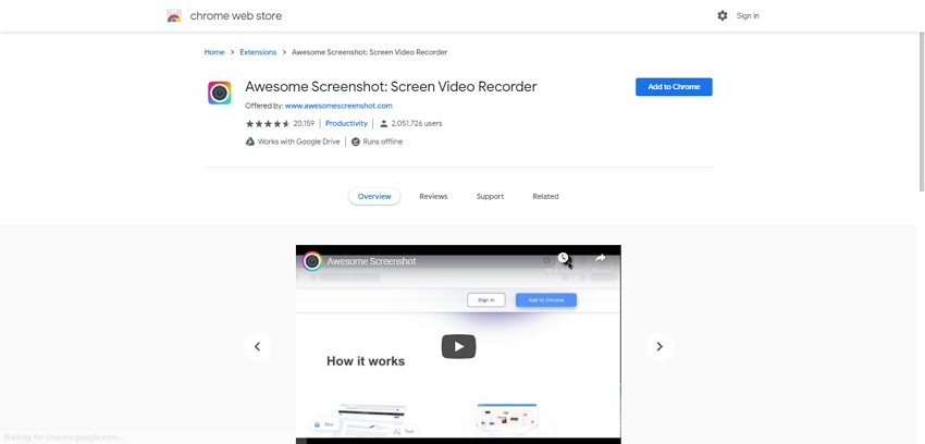 Free Video Capture-Awesome Screenshot