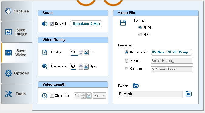Video Capture Freeware-Wisdom Screenhunter