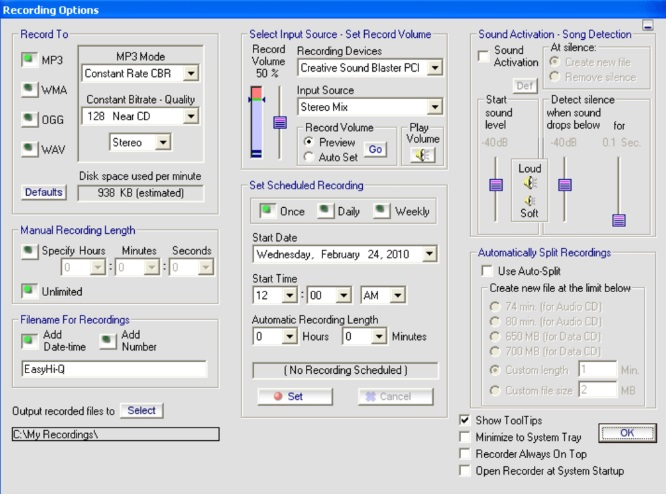 Best Audio Recorder-Easy Hi-Q Recorder