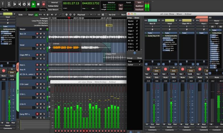 Audio Recording Software for Windows Free-Ardour
