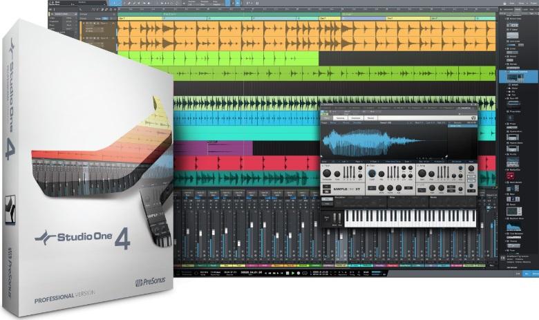 Audio Recording Software-PreSonus Studio One 4