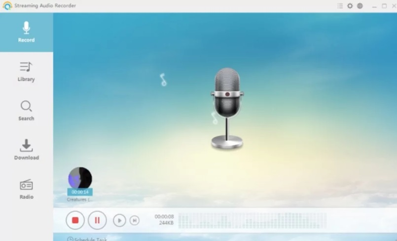 Windows Audio Recording Software-Streaming Audio Recorder