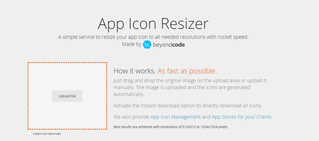 icon resizer app - 2