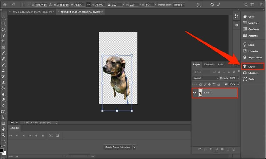 resize image photoshop - 1