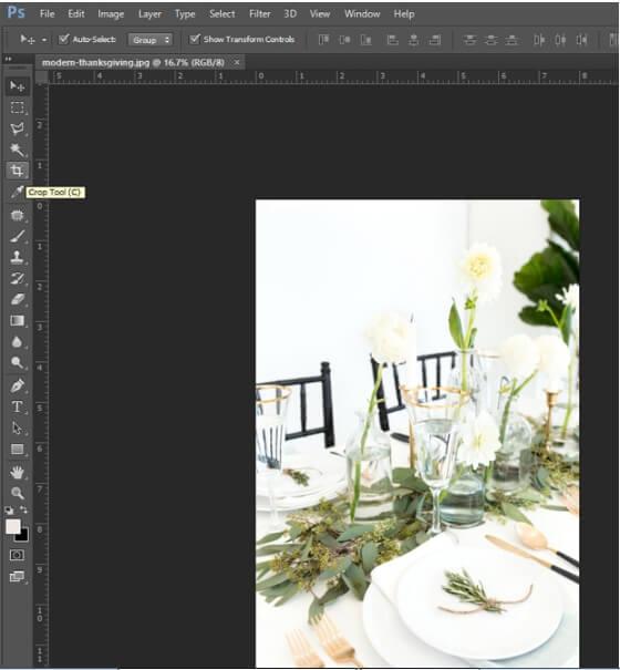 resize logo photoshop - step2