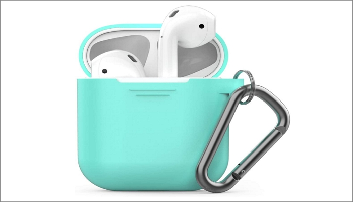 PodSkinz Keychain AirPods Case with Carabiner Compatible