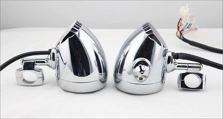 Motorcycle Aluminum Bullet