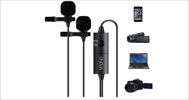 MAONO AU-200 Hands-Free Clip-on Lapel Mic