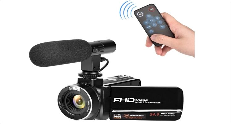 Gongpon Full HD Camcorder 1080p Digital Camera