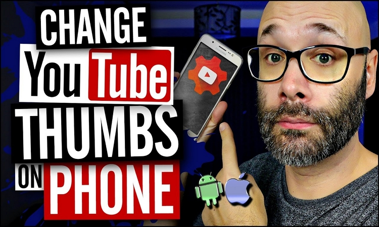 how to change thumbnail youtube on iphone