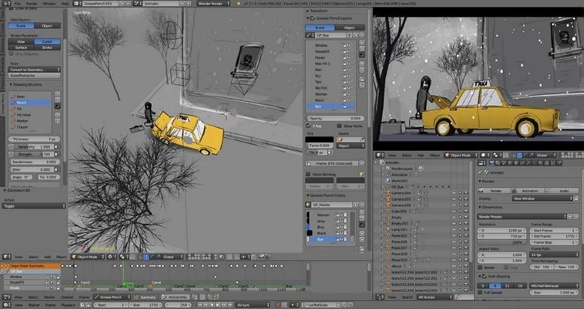 best 3d modeling software
