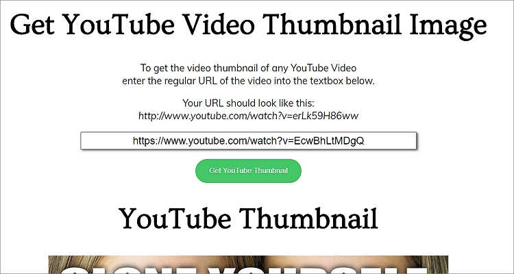 how to get youtube thumbnail on twitter