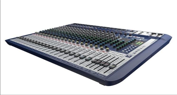Soundcraft Signature 22 Analogue Mixer