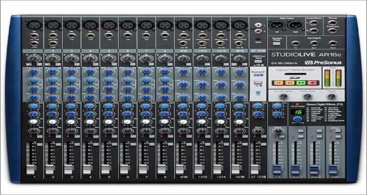 PreSonus StudioLive AR16c 16-Channel Digital Mixer