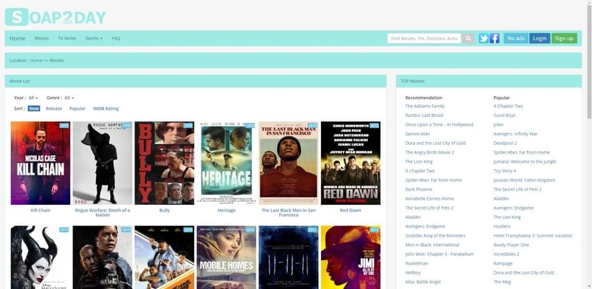 free movie websites-SOAP2DAY