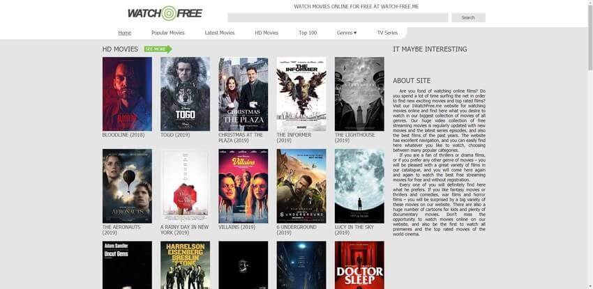 free movie site-Watch Free