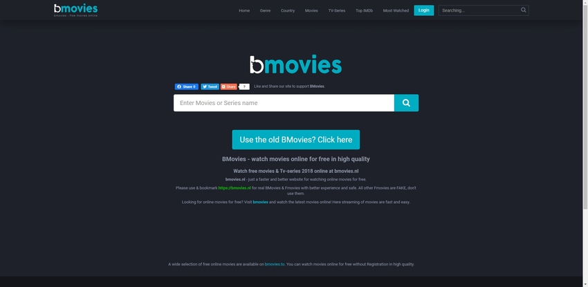 free movie website-BMovies