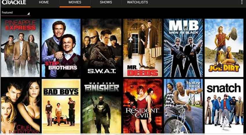 free online movie site-Crackle