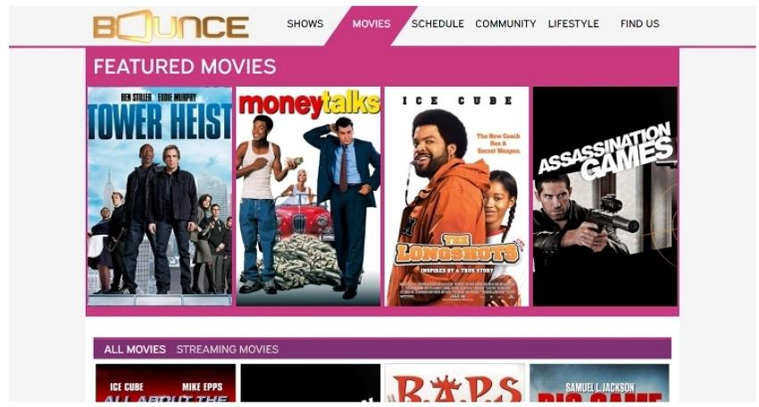 free online movie streaming site-Bounce TV
