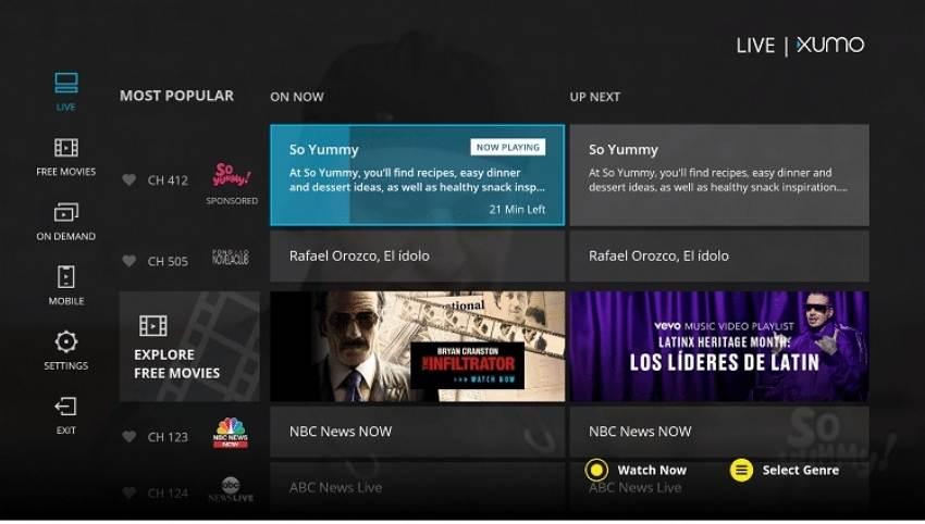watch movie online-XUMO TV