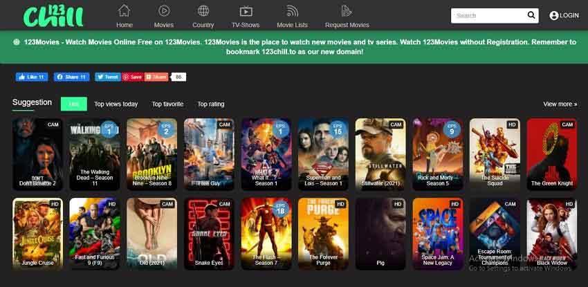 watch movie online-123Chill