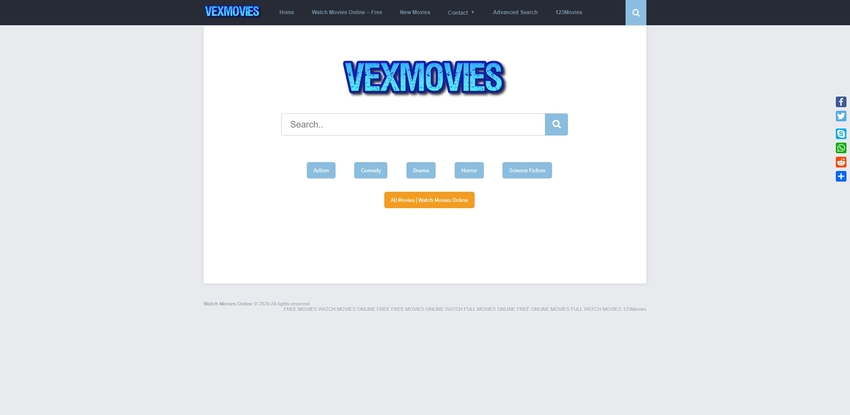 free movie streaming site-VEXMOVIES
