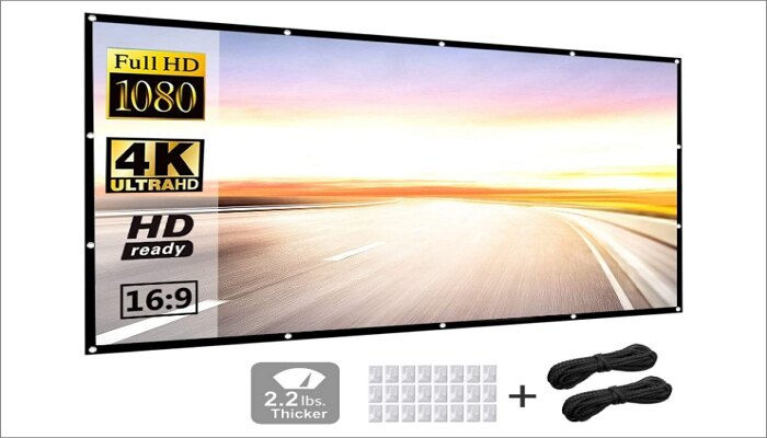 "P-JING 120"" Projector Screen"