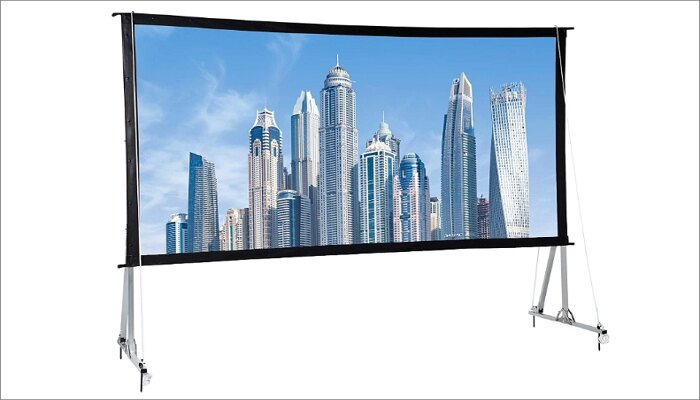 AmazonBasics Outdoor Projector Screen 120