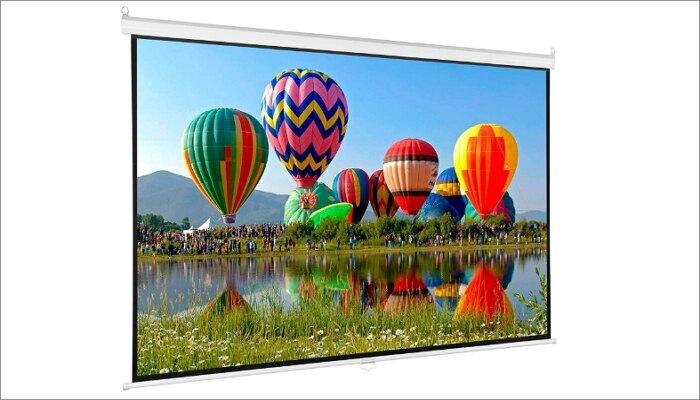 """VIVO 100"""" Projector Screen"""