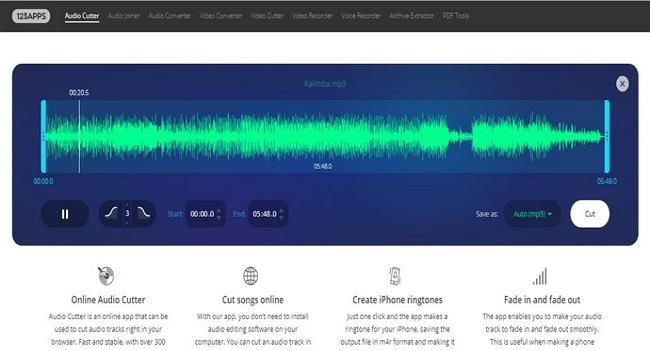 audio editor free no download