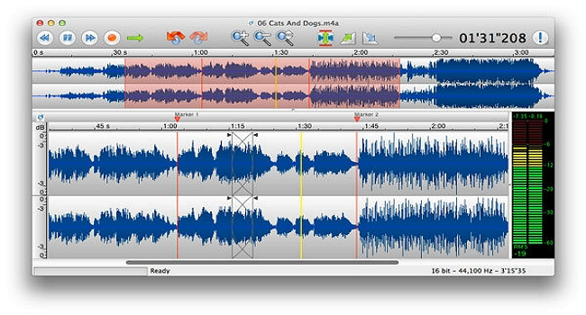 free audio editor editing