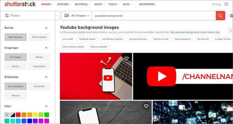 free youtube background images