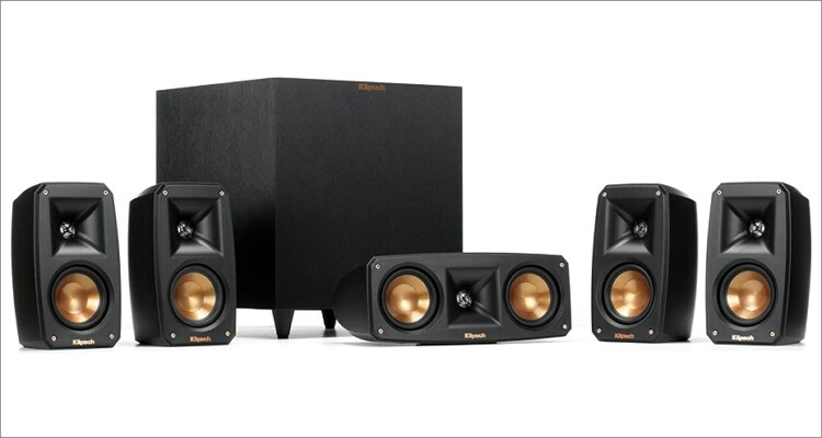 Klipsch Black Reference Theater Pack Surround System
