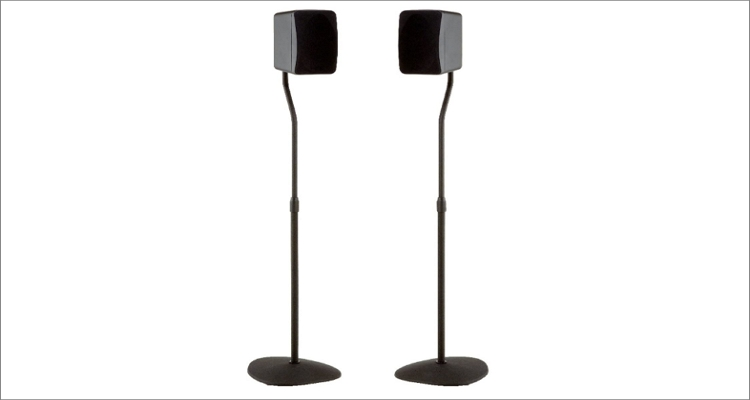 Sanus Adjustable Height Speaker Stand